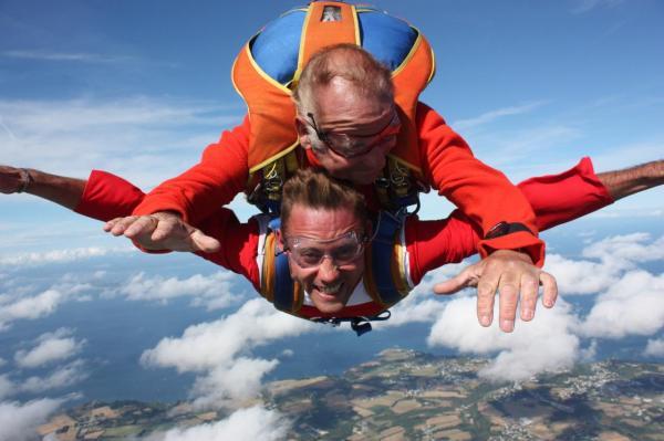 skydive belle ile en mer