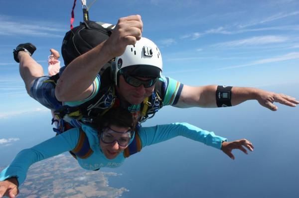 parachutisme belle ile en mer