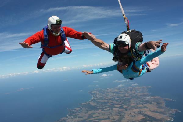 belle ile en mer parachutisme
