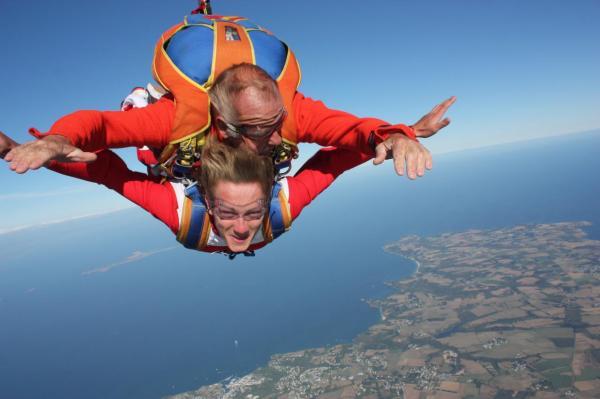 sauter en parachute belle ile
