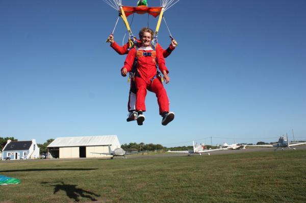parachutisme morbihan