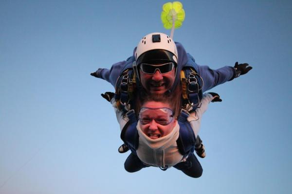 sauter en parachute paris