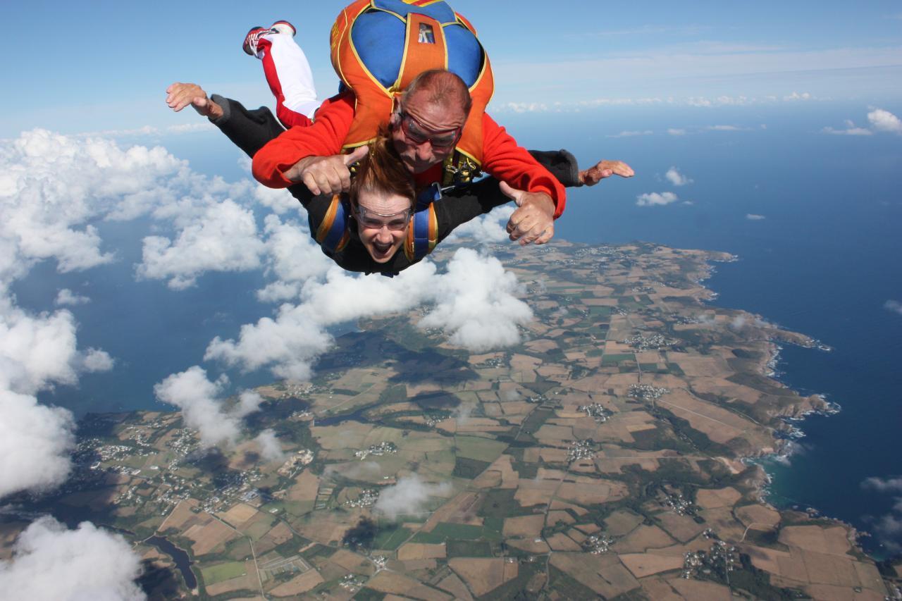sauter en parachute belle ile en mer