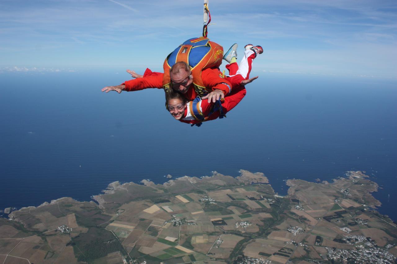 belle ile en mer skydive