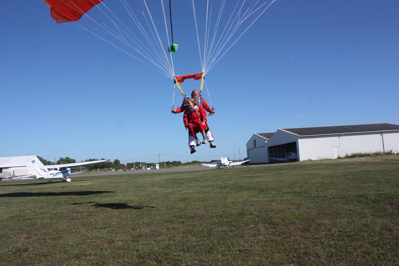 voile parachute tandem
