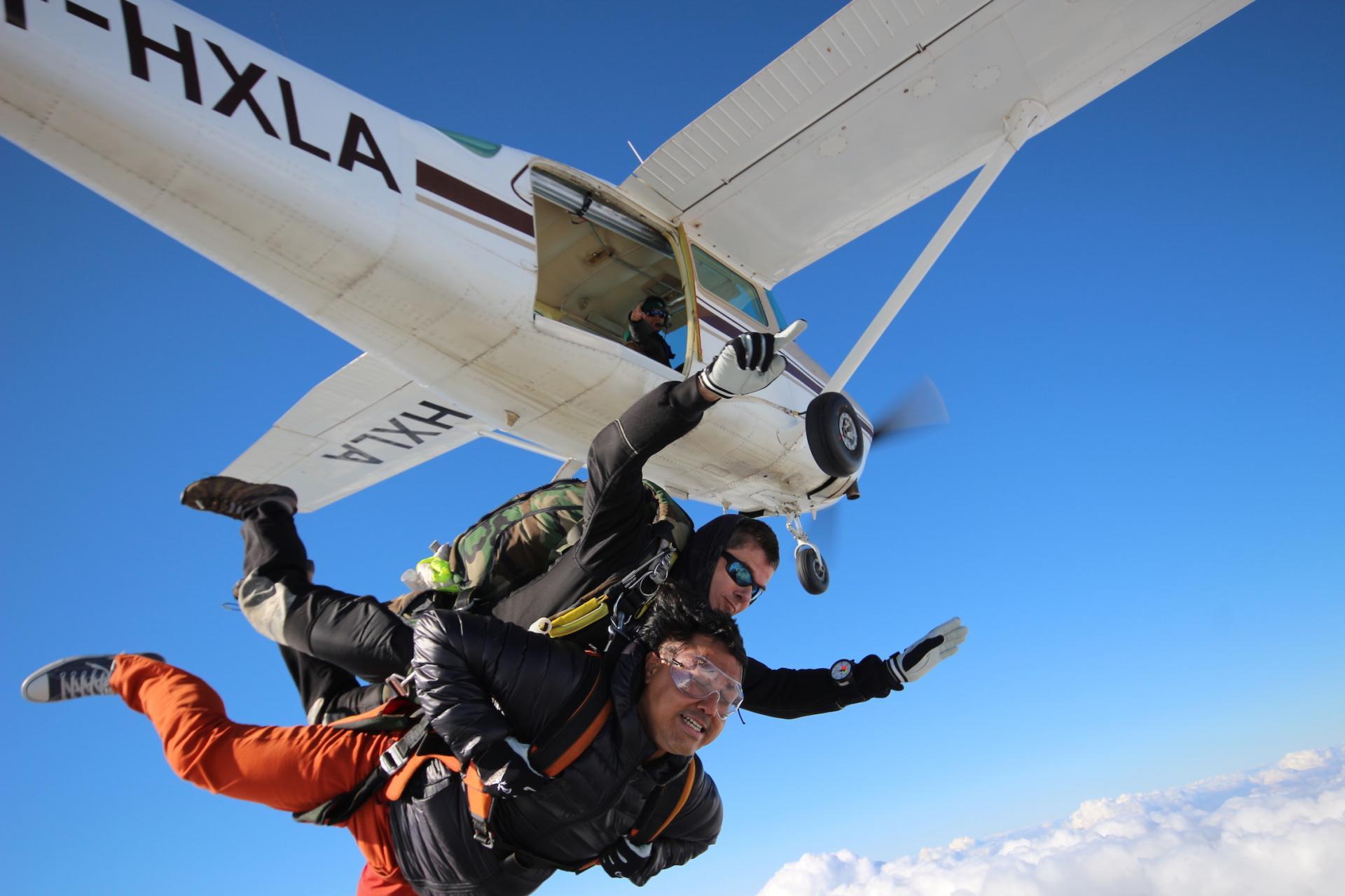 Parachutisme Ardennes