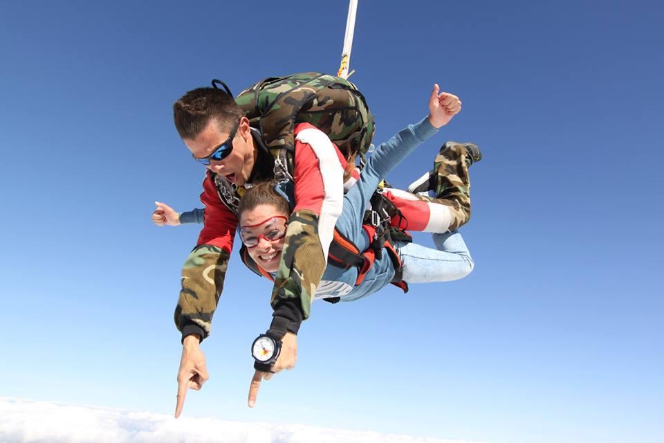 Saut en parachute amiens