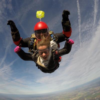 Saut en parachute france 1