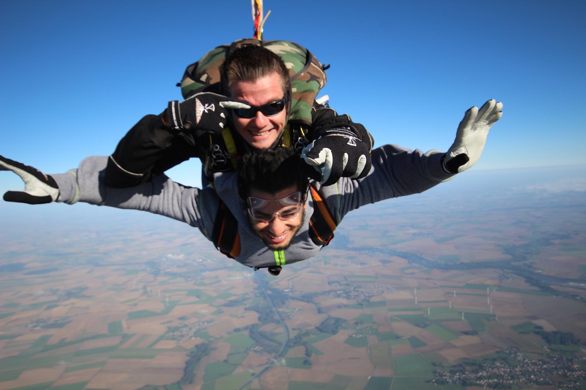 parachutisme Charleville Mézères