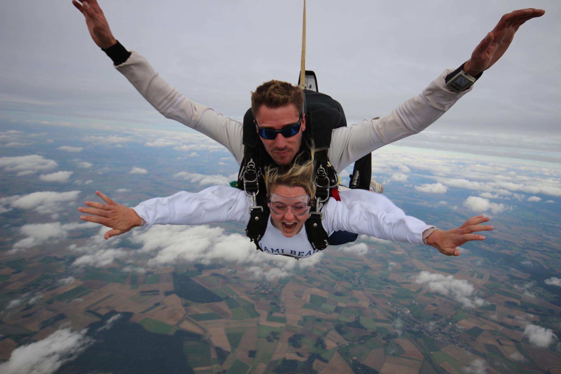Saut en parachute Charleville