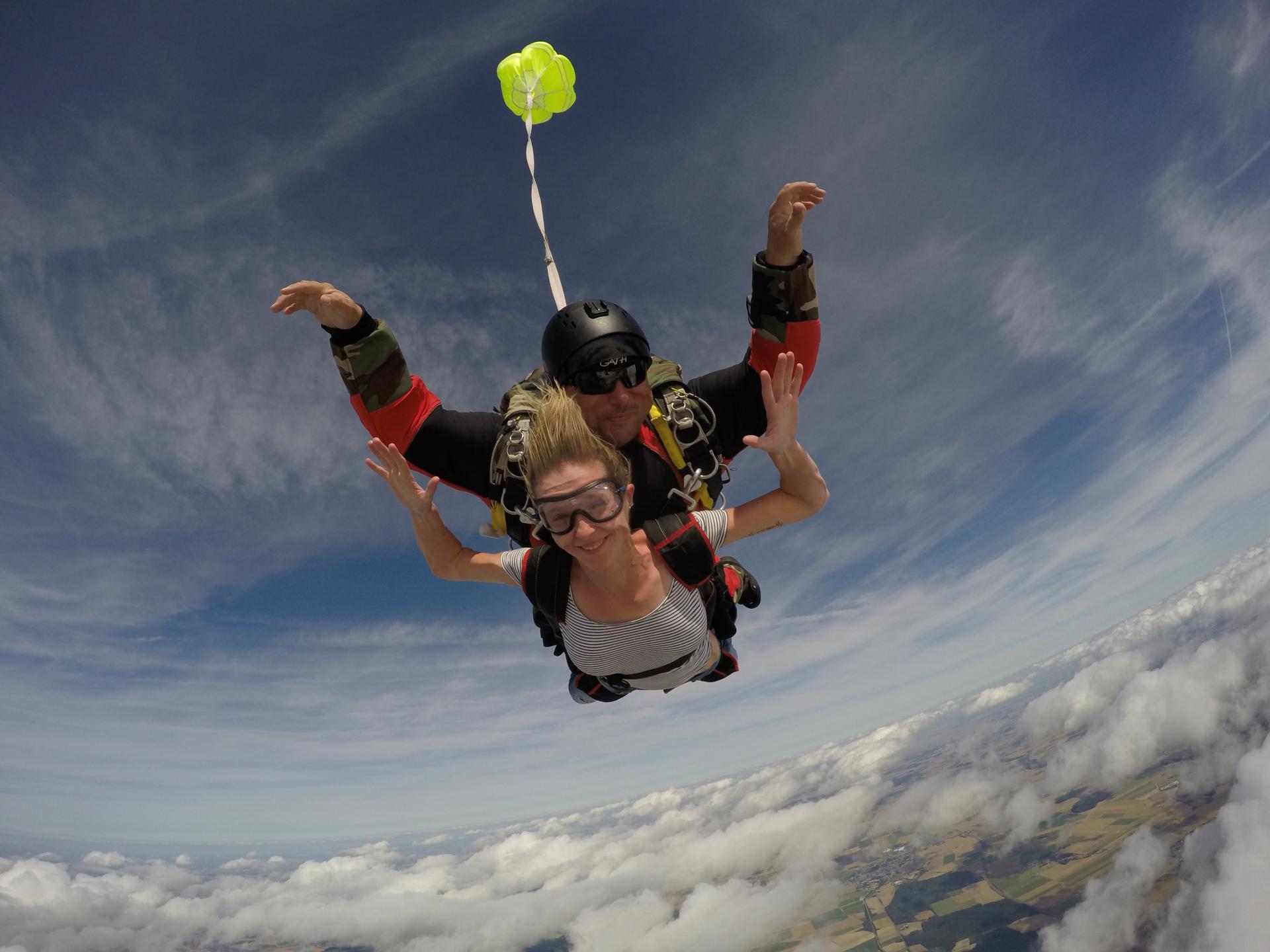 Sauter en parachute picardie